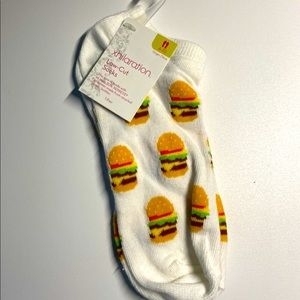 Hamburger Socks low cut